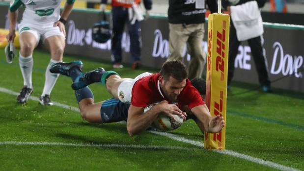 Owen Farrell kicks Lions to victory over Crusaders