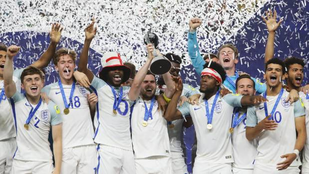 England win U-20 World Cup, first major trophy in 51 years