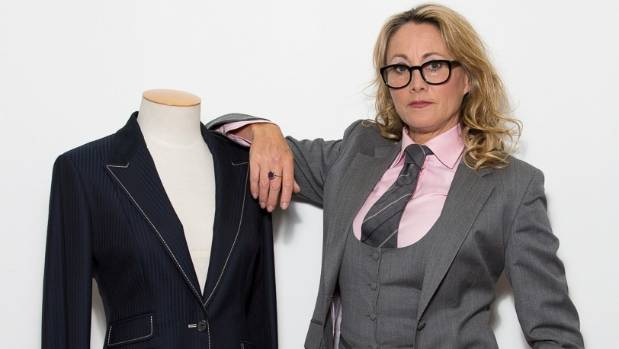 Serena Kelsey creates both men's and women's bespoke tailoring for clients around New Zealand.