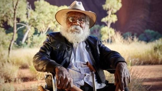 Traditional Owner of Uluru-Kata Tjuta National Park, Reggie Uluru.