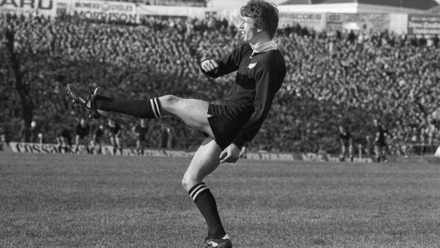 All Black Allan Hewson in action in 1983.  Known for his calmness under pressure, he now faces a big hurdle getting ...