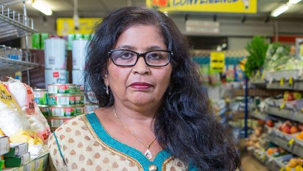 Manjula Patel in 2015 at her old store, also in Aro Valley.