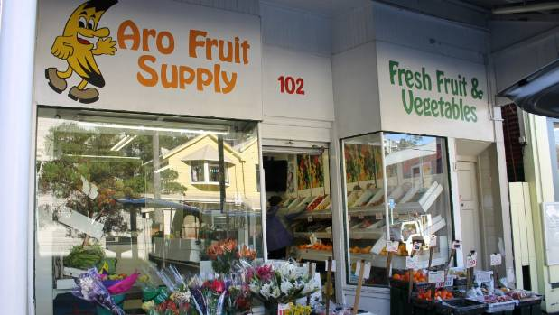 Aro Fruit supply, which owner Manjula Patel has applied to convert into a bottle shop.