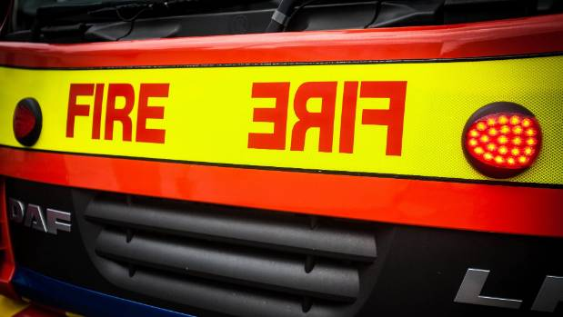 No-one is believed to have been injured after the fire at an unoccupied house.