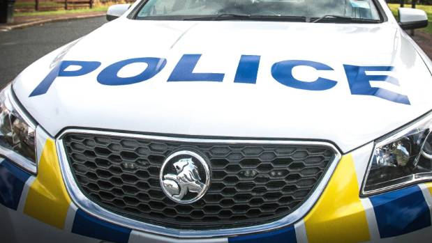 Police stopped pursuing a speeding vehicle when it got near Palmerston North Hospital.