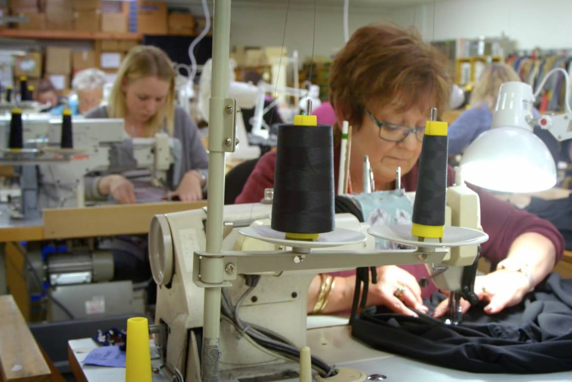 KILT clothing is all made in Napier, and Melissa Williams is adamant production will remain in New Zealand.