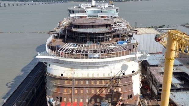 The ship is scheduled to be delivered in 2018.