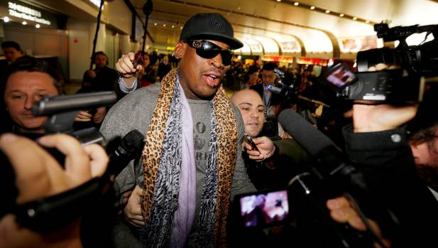 What Is Dennis Rodman Doing In North Korea?