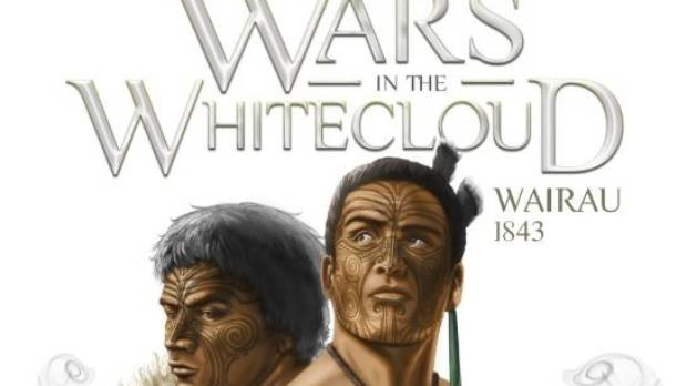Cover of Wars in the White Cloud; Wairau, 1843 by author Matt McKinley.