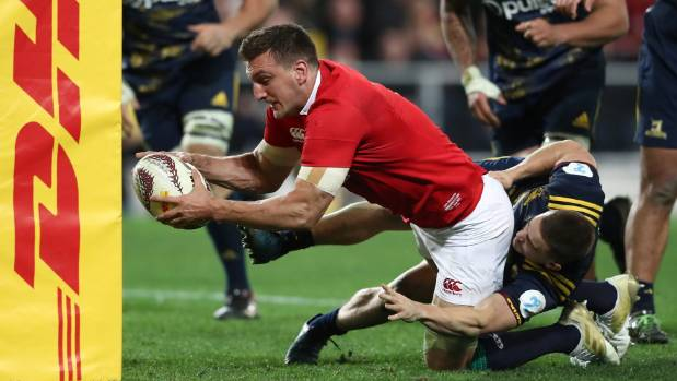 Captain Sam Warburton could not make it into Sir Graham Henry's Lions team.