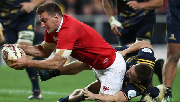 Sam Warburton is expected to be on the bench for the first test.