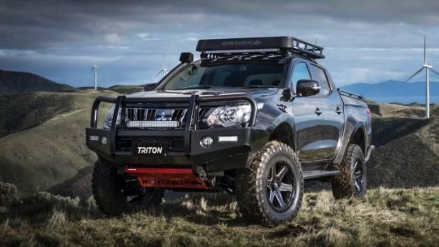 Mitsubishi Unveils One Off Toughened Triton Ute For