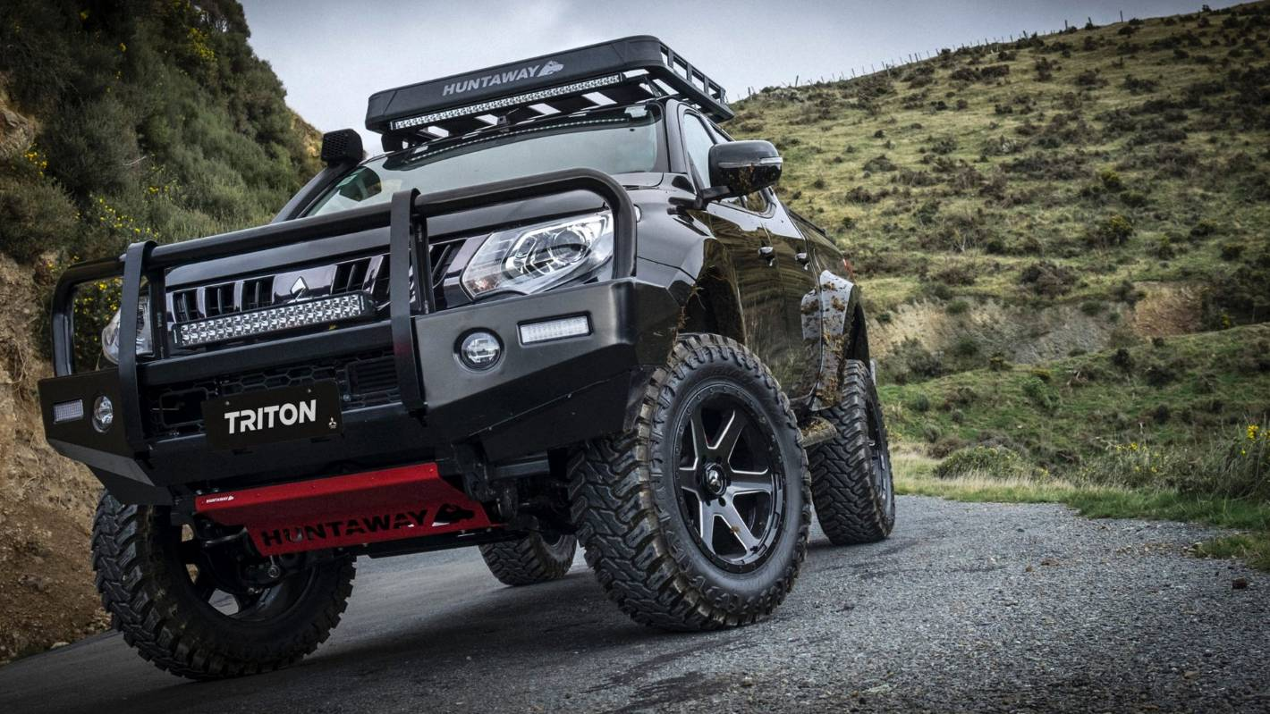 Mitsubishi Unveils One Off Toughened Triton Ute For Fieldays Stuff Co Nz