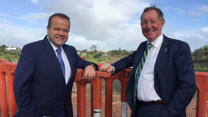 c99ec5072e4 Fletcher Residential and Land Development chief executive Steve Evans and  Housing Minister Nick Smith say they