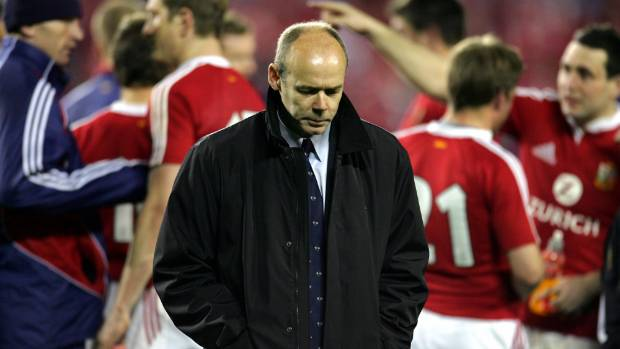 Clive Woodward coached the Lions in New Zealand in 2005.