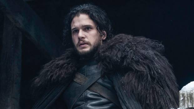 Kit Harington as Game Of Thrones' Jon Snow.