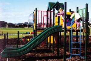 Playgrounds are the prime place in modern society where parents feel justified in depositing their poorly behaved ...
