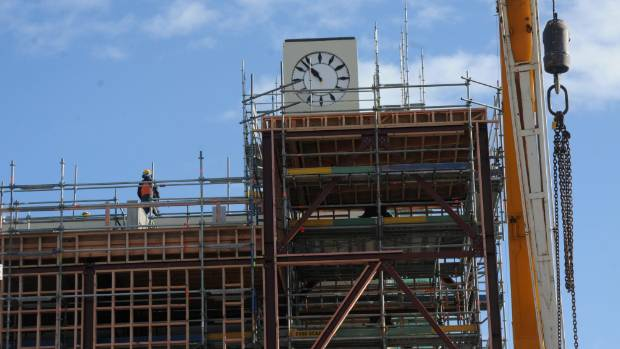 Lower Hutt's landmark clock tower has undergone a significant upgrade and earthquake strengthening..