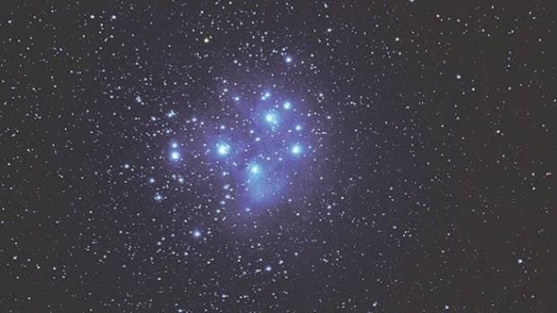 The Maori New Year Matariki star alignment also known as Pleiades in English.