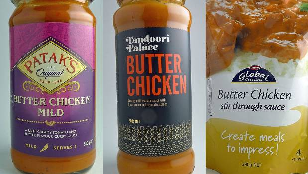Which butter chicken sauce is the healthiest?