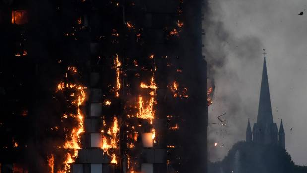 Scenes From the Massive West London High-Rise Fire