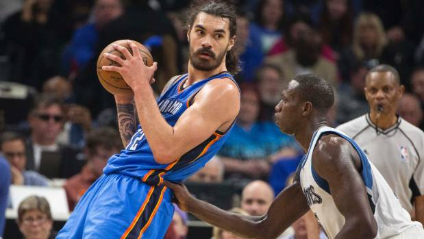 Oklahoma City Thunder centre Steven Adams' qualities go beyond the box score, according to US hoops pundits.