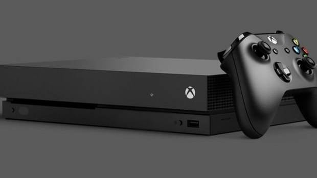 The Xbox One X runs at 6 teraflops, making it the world's most powerful gaming machine by some margin.