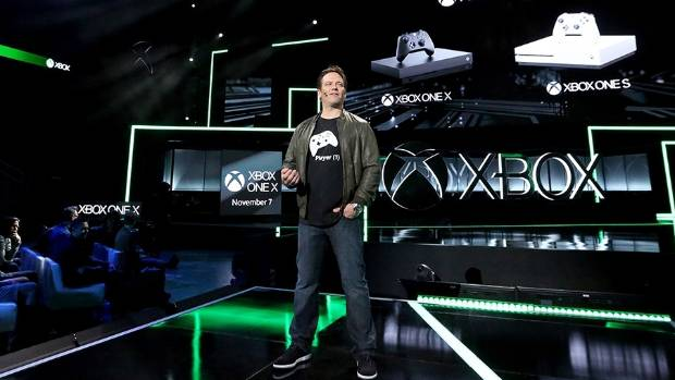 Xbox chief executive ran the show at Microsoft's E3 briefing, introducing a new console, 42 games, and 22 Xbox exclusives.