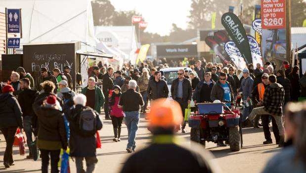 Day one of Fieldays saw over 26,000 people come through the gates.