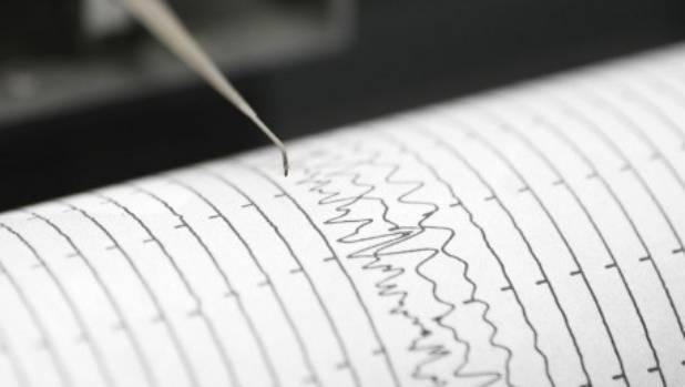 1 magnitude natural disaster recorded near New Zealand