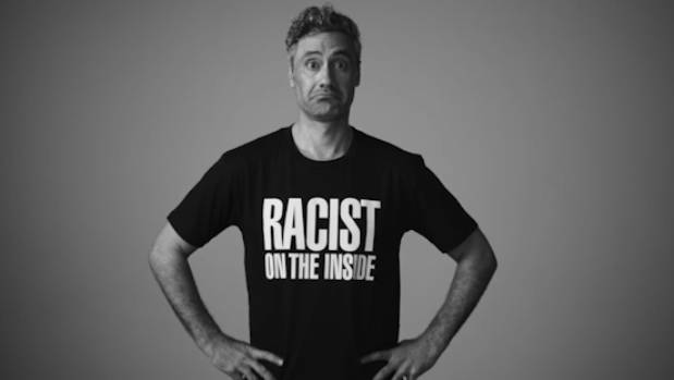 Taika Waititi speaks out against racism.