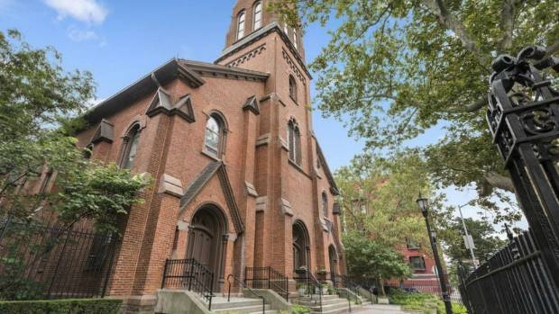 Built in 1858, this Brooklyn New York church has been converted to a condominium building.
