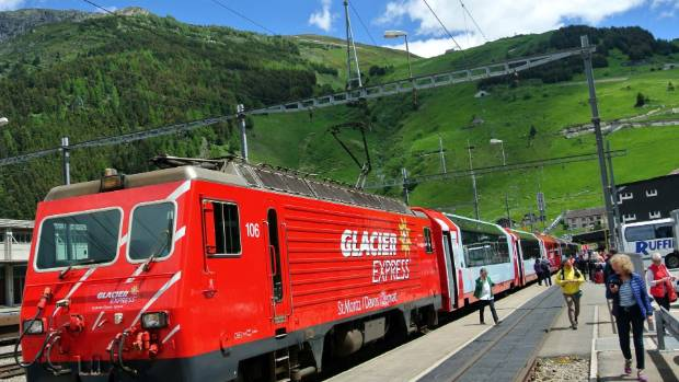 glacier express switzerland train journey the most beautiful country to see by rail. Black Bedroom Furniture Sets. Home Design Ideas