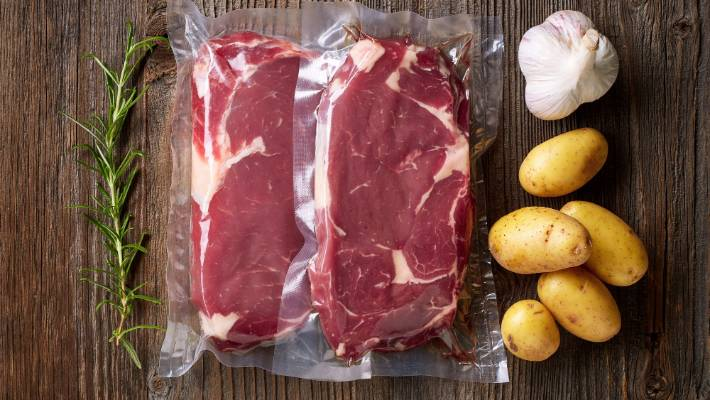 Steak Is The Classic Protein To Cook Sous Vide Try Putting Garlic And Rosemary In