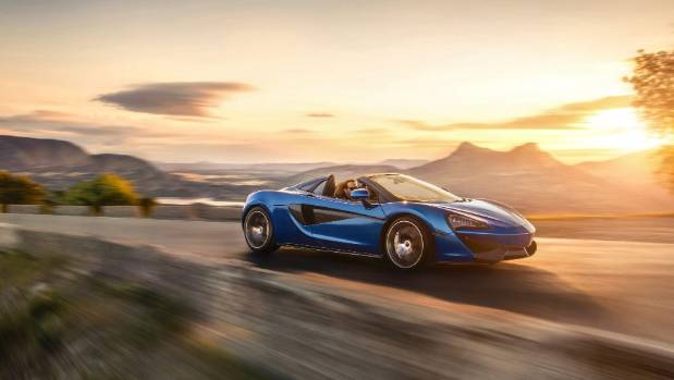 "McLaren says the 570S is ""a convertible without compromise""."