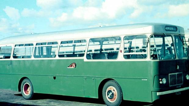 The ABC buses used to service Henderson and New Lynn, including Pomaria Rd, in the 1970s.