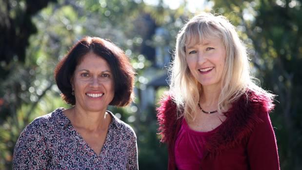 Maria de Jong (Left) and Karen Jarvis, biographers from Life Stories.