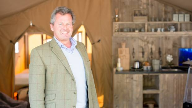 Safari Tents owner James Lamb said farmers are showing huge interest for their tents at Fieldays.