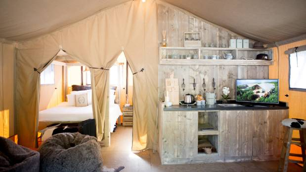 Glamping operators can charge $200 to $500 a night depending on what they offer.