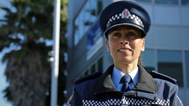Inspector Naila Hassan has been at the Otahuhu Station for about five weeks.