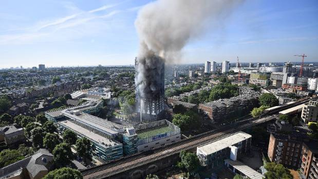Death toll in London high-rise fire goes up to 17