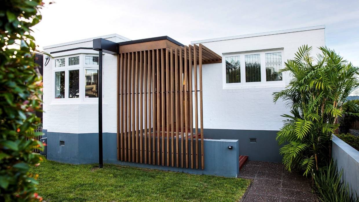 House of the week behind the art deco facade is an audacious add on stuff co nz