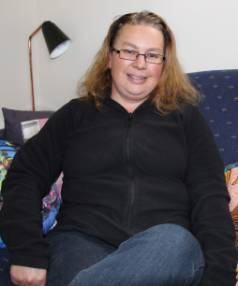 Renee Wallace, of Milton, continues her fight against bowel cancer.