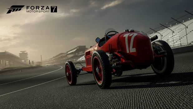 As well as the latest supercars, Forza 7 features dozens of cars from the golden age of motorsport.