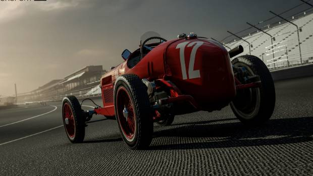 As well as modern supercars, Forza 7 also features classic models from the golden age of motorsport.