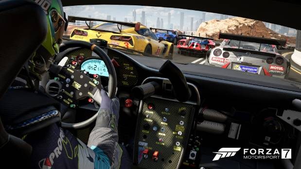 A renewed focus on the in-cockpit view adds a new layer of realism to every inch of the driver's seat.