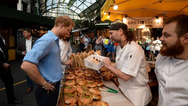 Prince Harry makes surprise visit to Borough Market