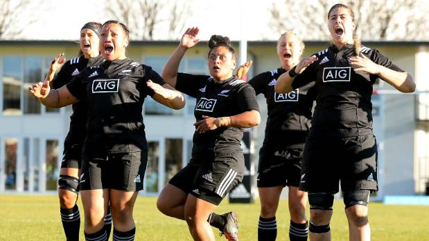 What a haka by the Maori All Blacks!