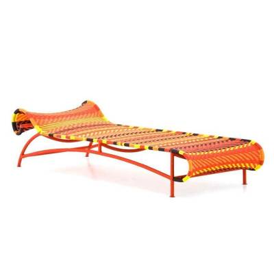 Boontje also created the 'Sunny' lounger, to complement the 'Shadowy' chaise longue. The 'Sunny' and 'Shadowy' seats are ...
