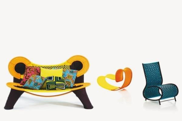 Patrizia Moroso's celebrated m'Afrique collection was launched in 2009, and new pieces have been added over time. Kiwis ...